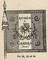 Drapeau de l'Orphéon de Cambrai en 1911 - 2.jpg