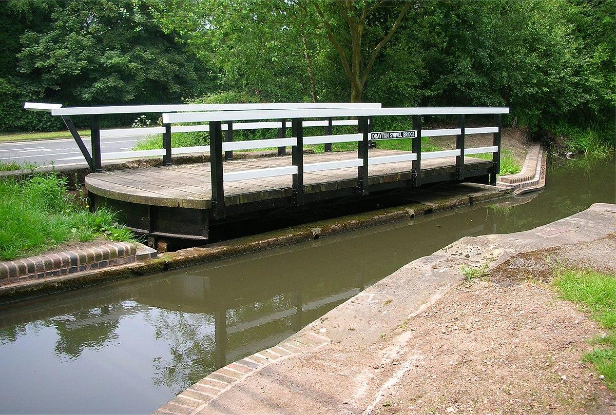 Drayton swivel bridge, Birmingham and Fazeley Canal.jpg