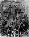 Drilling in the Cascade Tunnel West Portal 1926.JPG