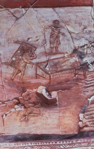Dura-Europos church - Image: Dura europos paralytic