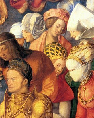 Adoration of the Trinity - Image: Durer, Adoration of the Trinity 05