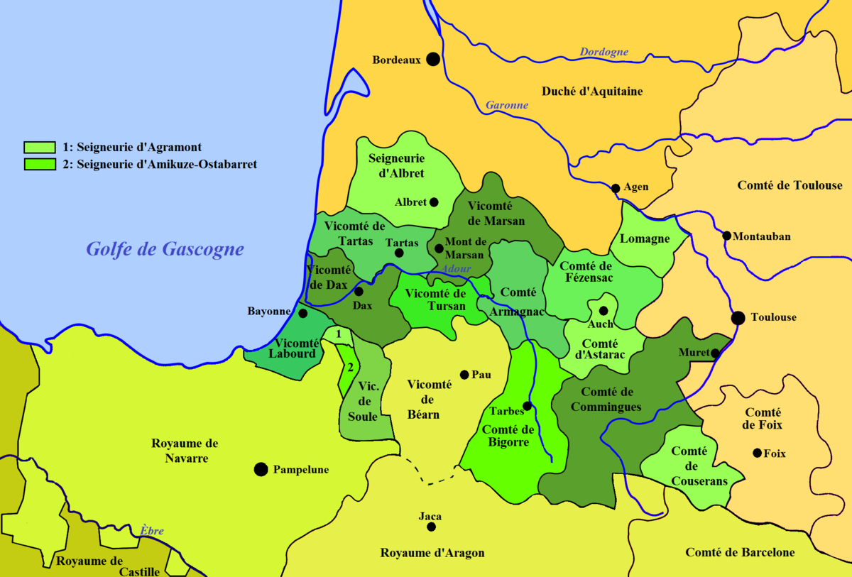 Duchy of Gascony - Wikipedia