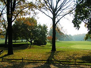 Earl Woods - The view of the Dyker Beach Golf Course, in Dyker Heights, Brooklyn