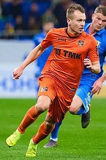 Dzyanis Palyakow Belarusian footballer