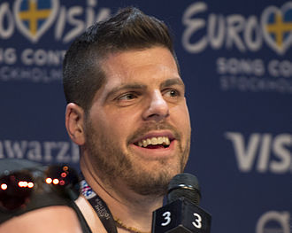 Andrej Babić - Andrej Babić at the Eurovision Song Contest 2016 in Stockholm.