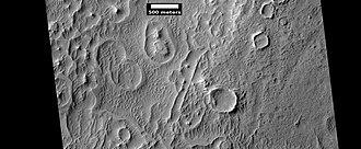 Schiaparelli (Martian crater) - Image: ESP 025201rings