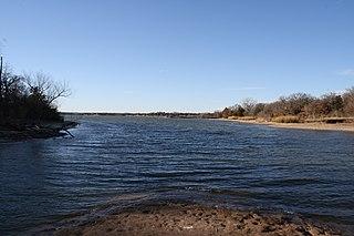 Eagle Mountain Lake lake of the United States of America