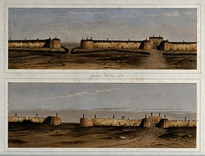 Battle of Jellalabad - Jellallabad fortifications