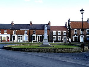 Easingwold - Easingwold's cenotaph