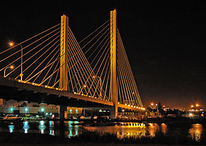East 21st Street Bridge, Tacoma at night.jpg