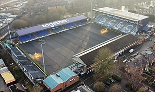 Edgeley Park Football stadium in Edgeley, Stockport, England