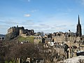 Edinburgh, The Castle from the roof terrace of The National Museum of Scotland - geograph.org.uk - 751041.jpg