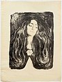Edvard Munch - The brooch. Eva Mudocci - 1903.jpg
