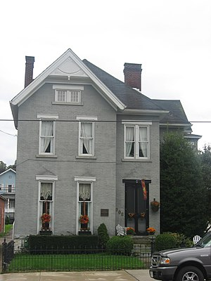 Monongahela, Pennsylvania - Edward G. Acheson House in 2011