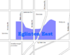 Eglinton East map.png