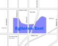 Eglinton East map.png