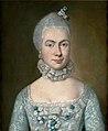 Einer jungen Gräfin mit Blumenschmuck im Haar - A.R. de Gasc (um 1748, priv.coll.).jpg