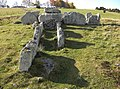 Ekornavallen (Raä-nr Hornborga 31-1) gånggriften Girommen 3601.jpg