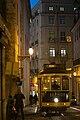 Eléctrico subindo a Rua de Santo António à Sé à noite (8405564341).jpg