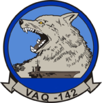 Electronic Attack Squadron 142 (US Navy) insignia c1997.png
