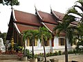 Elegant building of a wat in the Wat Sri Suphan complex (14553375098).jpg