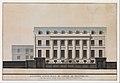 Elevation of the Facade of the Hôtel de Montholon, Paris MET DP339403.jpg