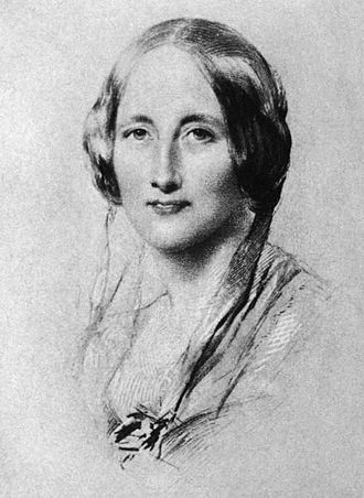 84 Plymouth Grove - Elizabeth Gaskell, in portrait of 1851 by George Richmond