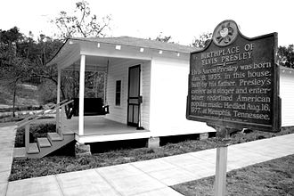 Tupelo, Mississippi - Elvis Presley Birthplace in Tupelo