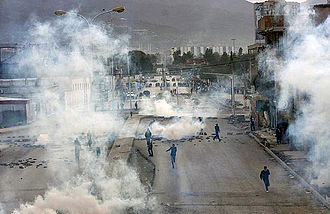 Arab Spring concurrent incidents - 8 January 2011 protests in Algeria.