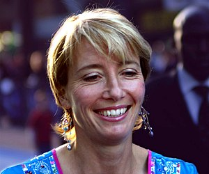 Emma Thompson at the Nanny McPhee London premiere