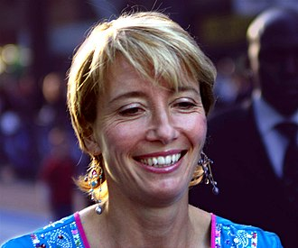 Emma Thompson - Thompson at the London premiere of Nanny McPhee, 2005