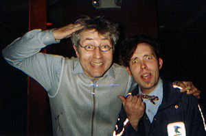 Emo Philips (left) and Danny Norton at the Go ...