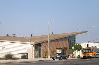 Tarzana, Los Angeles - Encino-Tarzana Branch of the Los Angeles Public Library