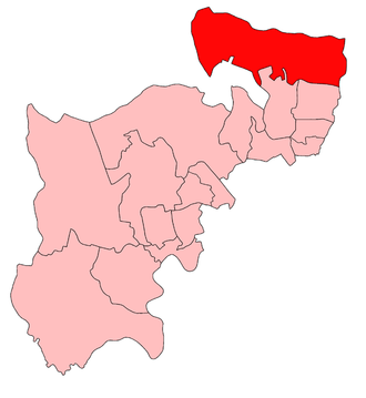 Enfield (UK Parliament constituency) - Image: Enfield 1918