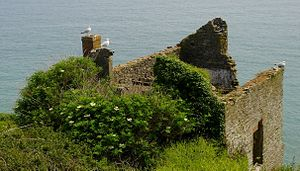Hallsands - Ruins of the Old Chapel at Hallsands