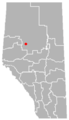 Enilda, Alberta Location.png