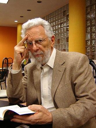Enrique Dussel - Enrique Dussel in the UNAM March 2009
