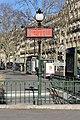 Entrée Station Métro Iéna Paris 6.jpg