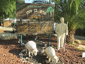 Kerem Ben Shemen - Village entrance