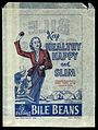 Ephemera collection; Paper bag advertising Bile Beans Wellcome L0030503.jpg