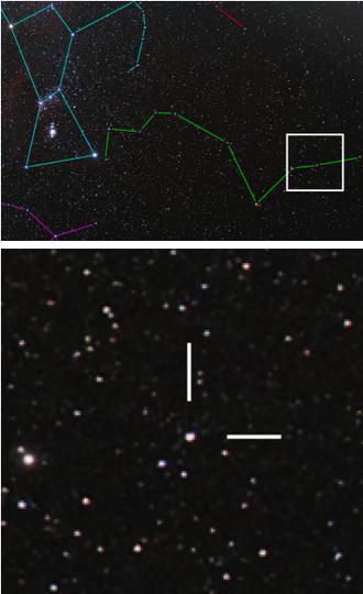 Epsilon Eridani - Image: Epsilon Eridani location