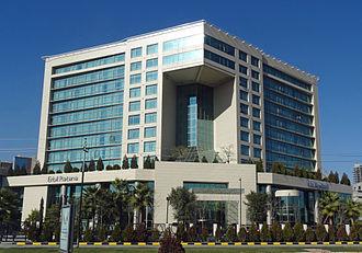 Rotana Hotels - The Erbil Rotana Hotel in Erbil, Iraqi Kurdistan.