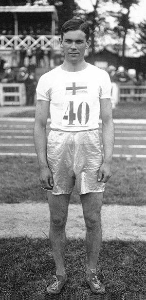 Erik Abrahamsson - Erik Abrahamsson in 1920