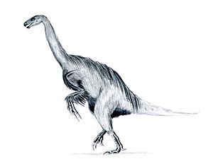 1980 in paleontology - Erlikosaurus