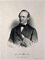 Ernst Wilhelm von Bruecke. Lithograph by A. Dauthage, 1860. Wellcome V0000831.jpg