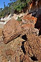 Erosion of Red Cliffs of Scarborough-08 (5953414975).jpg