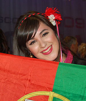 Portugal in the Eurovision Song Contest 2009 - Image: Esc port