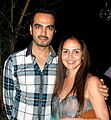 Esha Deol snapped with her husband.jpg
