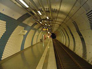 Essen Stadtbahn - Karlsplatz station, built in 2001