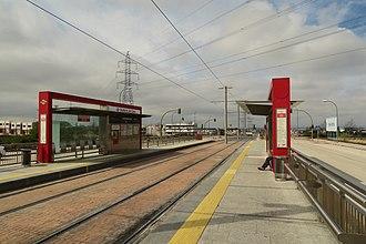 Ventorro del Cano (Madrid Metro) - Image: Estación de Ventorro del Cano